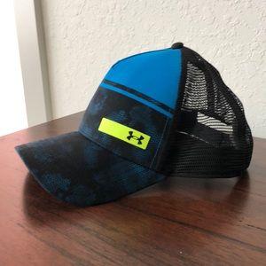 Under Armor blue/black SnapBack Adjustable Hat